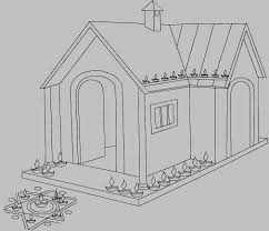coloring pages of diwali house decoration with mud pots and diwali