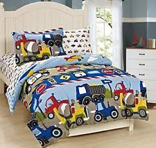 Kids Twin Comforter Set Campout Outdoors Camping Gray Boys 5pc Kid Twin Comforter Bedding