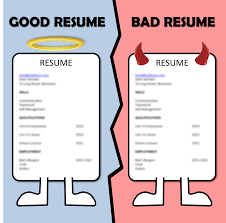 Photo Resume Examples Bad Resume Sample Good Bad Resumes Examples You Have To Avoid Bad