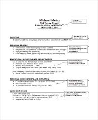 Personal Profile Resume Examples by Cozy Design Resume For Babysitter 3 Best Babysitter Resume Example