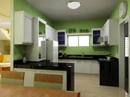 traditional white kitchen design ideas with l shaped green glossy