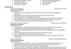 Sample Resume Operations Manager by Download Sample Cover Letter Product Manager