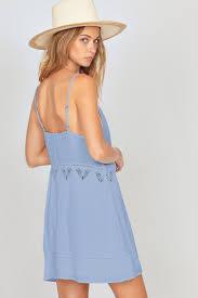 light blue tank dress amuse society beach luxe tank dress the shop laguna beach