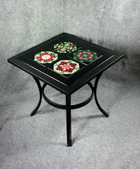 Patio Side Tables Metal Metal Patio Table And Chairs Small Patio Chairs Outside End Tables