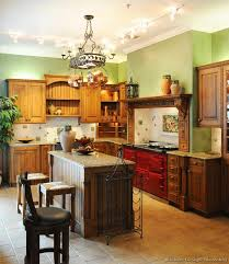 Traditional Italian Kitchen Design A Traditional Italian Kitchen Design With A Red Aga Stove 3 Of 3