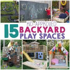 Kids Backyard Play by 15 Backyard Play Space Ideas For Kids The Realistic Mama