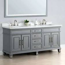vanities charleston 72 gray sink vanity by mission