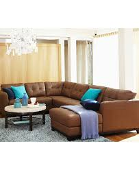 Livingroom Furniture Sets Martino Leather Sectional Living Room Furniture Collection