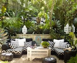 Backyard Garden Decor 11 Ways To Turn Your Home Into A Moroccan Oasis Backyard Seating