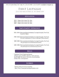 Best Font For Resume 2014 by Free Cv Templates 156 To 162 U2013 Freecvtemplate Org