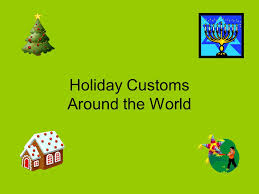 customs around the world united states