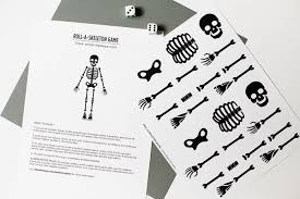 Halloween Printable Games Free Printable Skeleton Game U2014 All For The Boys