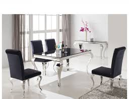 black glass dining room table black glass dining table and chairs