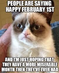 1st Of The Month Meme - grumpy cat meme imgflip