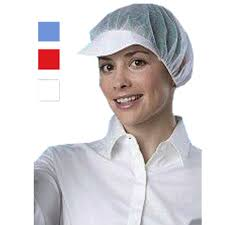hair net 100 x peak ed bouffant medi cal hygiene catering protective scrub