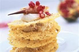 tuile cuisine tuiles au crabe et au fromage frais