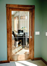 Knotty Alder Interior Door by Flat Molded Doors Matching Hollow