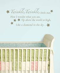 Nursery Quotes Wall Decals by Nursery Rhyme Wall Art Shenra Com