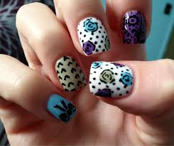 crazy nailzz diy home made nail art stickers crazy nailzz
