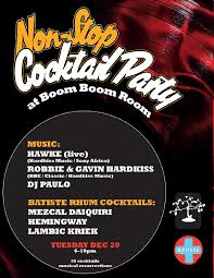 freee non stop cocktail party 6 pm start w hawke live