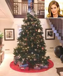 Latest Christmas Tree Decorations Celebrity Christmas Trees And Holiday Decorations People Com