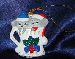 mouse ornaments etsy