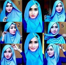 tutorial hijab pesta 2 kerudung 30 best model hijab pesta 2016 1mobile com