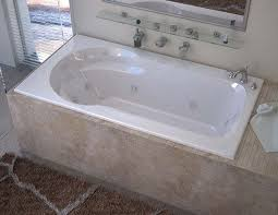 60 X 32 Bathtub Venzi Elda 32 X 60 Rectangular Whirlpool Jetted Bathtub With Left