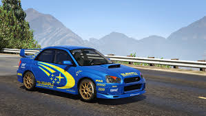 2004 subaru wrx modded subaru impreza wrx sti 2004 world rally team livery gta5 mods com
