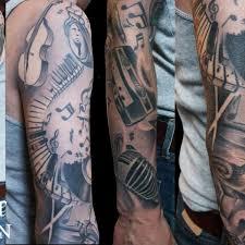 tiger rose tattoo american arm tattoo on tattoochief com