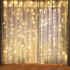 Lighting Curtains Amazon Com Lightess Curtain Icicle Lights 600 Led String Fairy