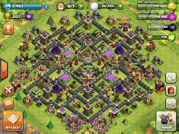 Coc Maps Compilation Best Th10 Farming And Defense Bases