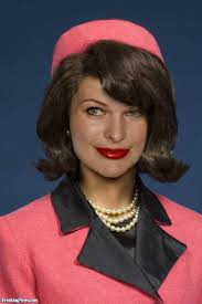 Kennedy Jacqueline Milla Jovovich In A Jackie Kennedy Suit Pictures Freaking News
