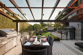 Outdoor Glass Patio Rooms - glass covered patio houzz