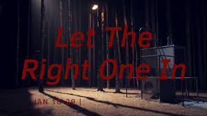 national theatre of scotland let the right one in youtube