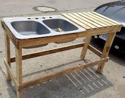 outdoor kitchen sinks ideas best 25 outdoor kitchen sink ideas on industrial