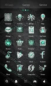 skull apk hell skull go launcher theme android apps on play
