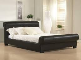 King Size Leather Headboard Bed Frames Best Black King Size Frame Image For Leather