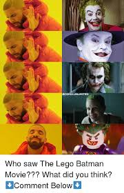 Lego Movie Memes - comixunlimited who saw the lego batman movie what did you think