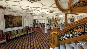 titanic first class dining room titanic s first class reception room by titanichonorandglory on