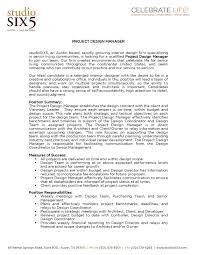 resume for director position design manager resume fresh interior design blog project design