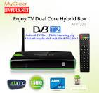 Giới thiệu ATV1220 DVB T2 - Android Box HyBrid (lai) Dual Core <b>...</b>