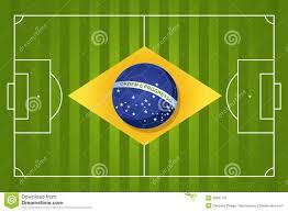 Flag Football Play Designer 2014 Brazil Soccer Flag Stock Vector Image Of Silhouette 32687737