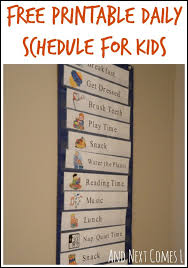 61 best preschool schedule images on pinterest creative