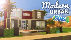 the sims 4 speed build modern urban home youtube