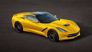 yellow corvette c7 chevrolet c7 corvette stingray in many colors autotribute