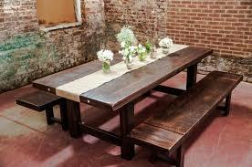 rustic wood dining room table modern minimalist dining room table