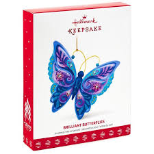 brilliant butterflies ornament keepsake ornaments hallmark