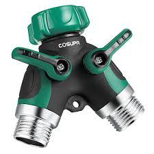 Faucet Splitter Cosupa 2 Way U201cy U201d Garden Hose Splitter Adapter Water Pipe Hose Bib