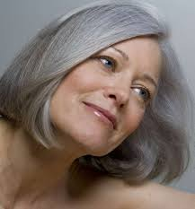 grey streaks in hair going grey or color away how hair color shades our thinking